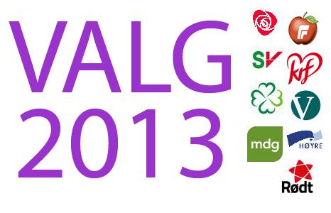 logo valg 2013