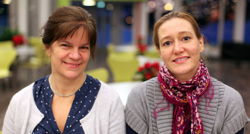 Nina Foss og Silje Folkvord