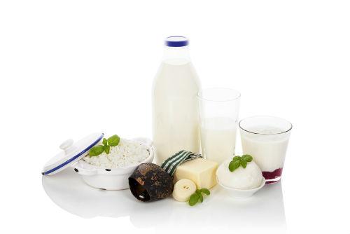 Melkeprodukter: Smør, melk, ost, youghert