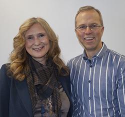 Anita Salamonsen og Arne J. Norheim;