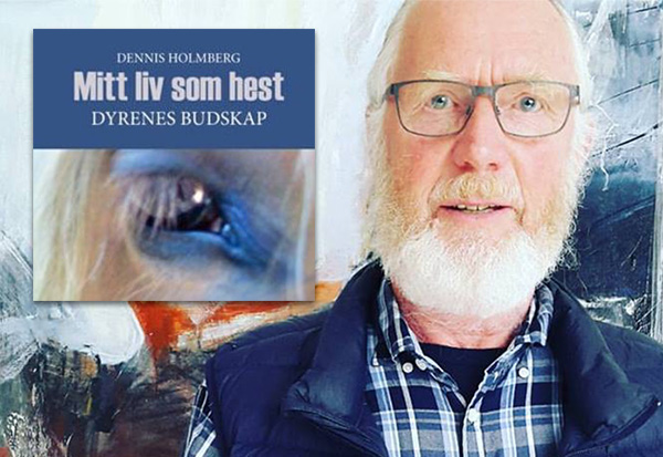 Kolasj Dennis Holberg med sin nye bok