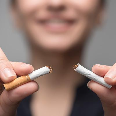 sigarett delt i to