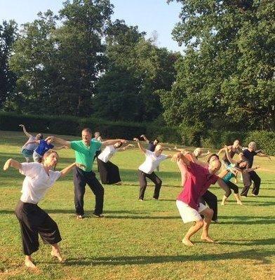 Qi gong trening