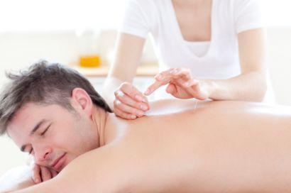 Akupunktur, mann