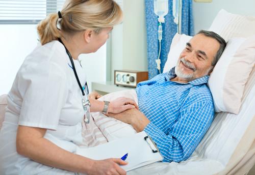 Behandler og pasient